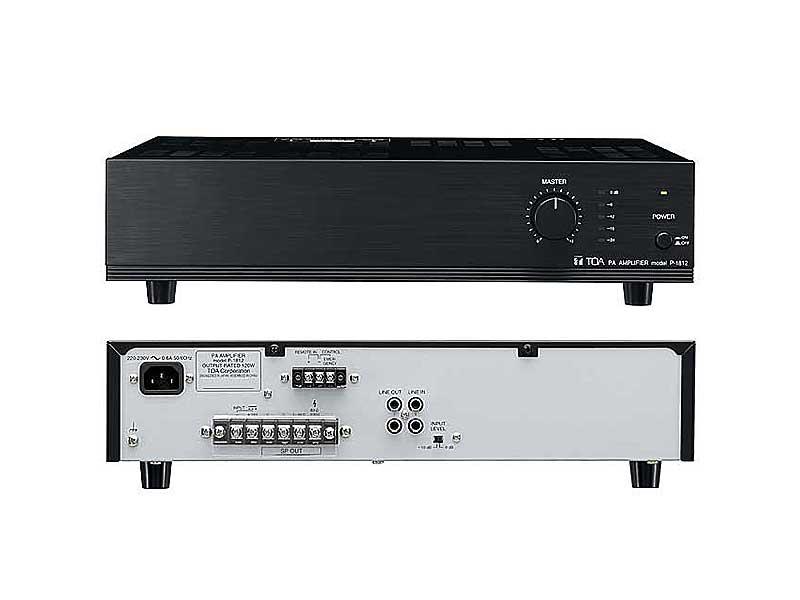 toa p 2240 240w power amplifier. Black Bedroom Furniture Sets. Home Design Ideas