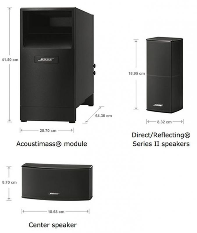 bose acoustimass 10 home cinema speaker system. Black Bedroom Furniture Sets. Home Design Ideas