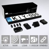KIYO D-Ultimate+GPS U1+Radar  Full Set Radar Detector/Parking Assist